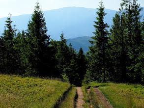 Photo: Potężna Babia Góra, a jesteśmy obecnie na ponad 1000 m n.p.m.