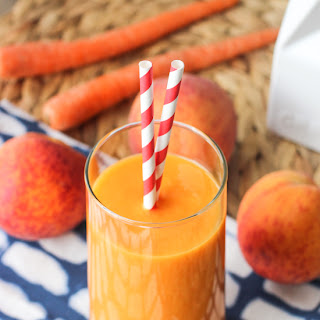 Power Peach Mango Smoothie.