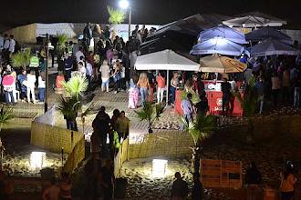 Photo: A chuva não estragou a festa