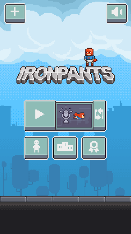 Ironpants: captura de pantalla