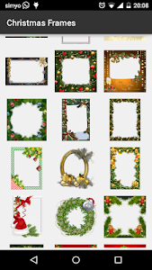 Christmas photo Frames screenshot 1