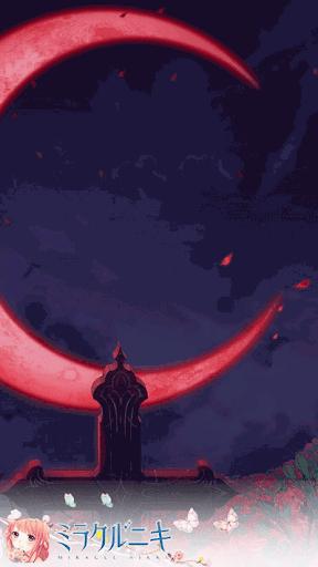 紅月と薔薇
