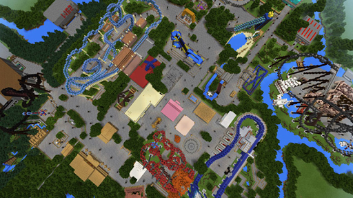 Amusement Park maps for Minecraft PE 2.3.29 screenshots 3