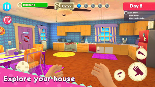 Mother Simulator: Family Life apkpoly screenshots 1