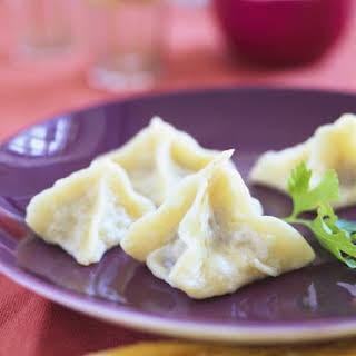 Turkish Lamb Dumplings.