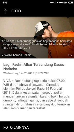VIVA - Berita Terbaru - Streaming tvOne & ANTV 3.5.3 Screenshots 6