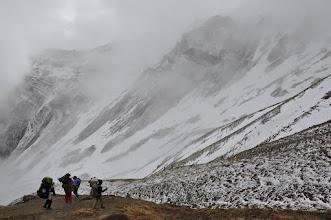 Photo: Passage du col situé entre le Khampa Camp et la Narsing khola