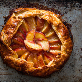 Freeform Peach Pie (Galette)