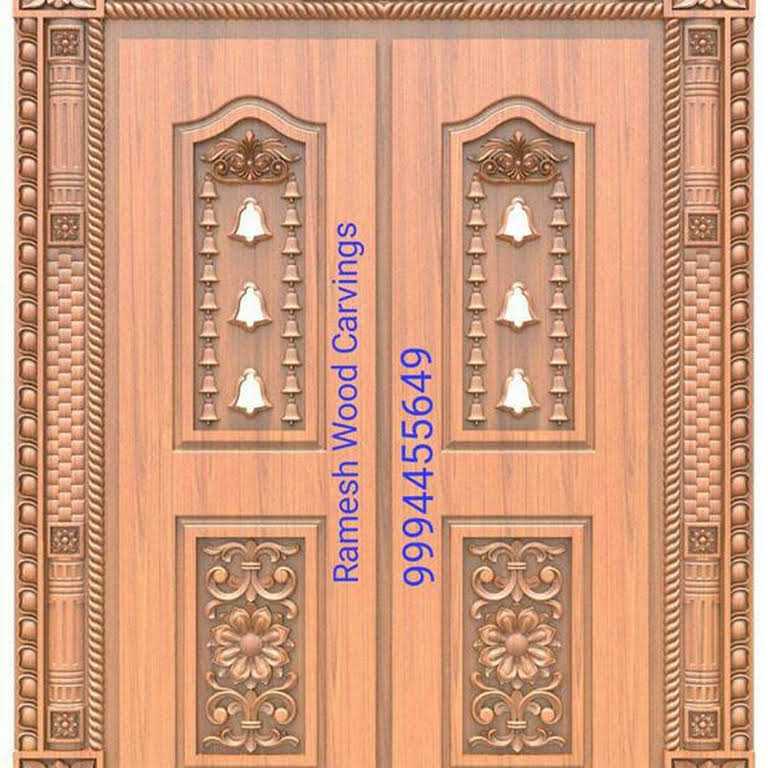 Ramesh wood carving work wood carving work in kanchipuram