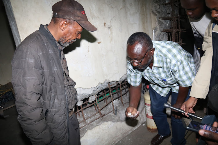 Survivors of Moi era torture Stanley Waweru and Joe Njoroge narrate their experience in Nairobi on Tuesday, February 18, 2020