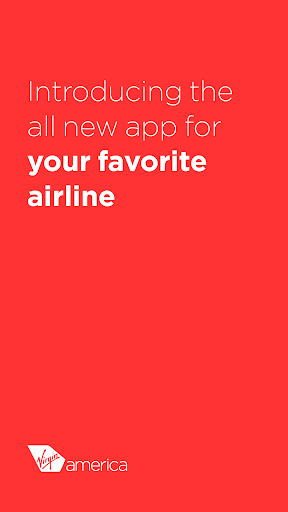 Virgin America Screenshot