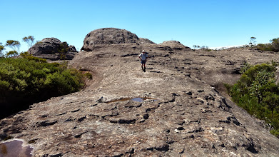 Photo: Typical long rocky sections along Wanganderry walls