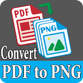 PDF to PNG Images Converter