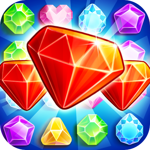 Jewels Hunter : Match 3 Jewels Puzzle Free