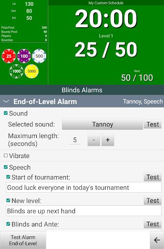 Blinds Are Up! Poker Timer apktram screenshots 8