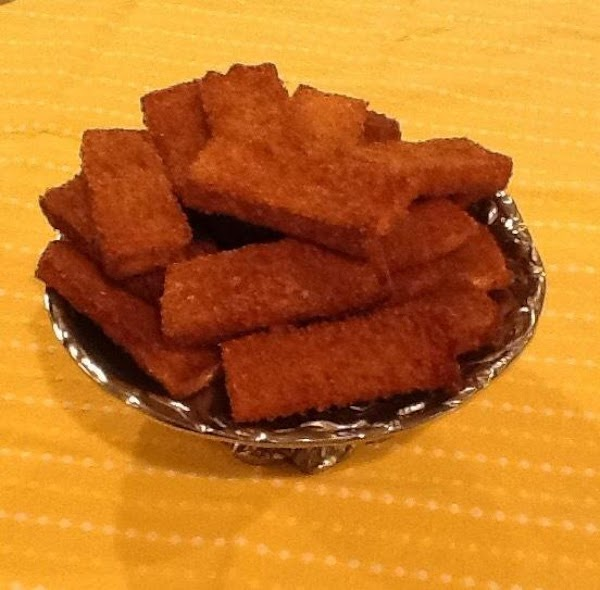 Baked Cinnamon Toasts Recipe
