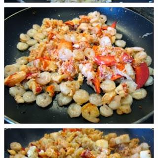 Seafood Linguine.