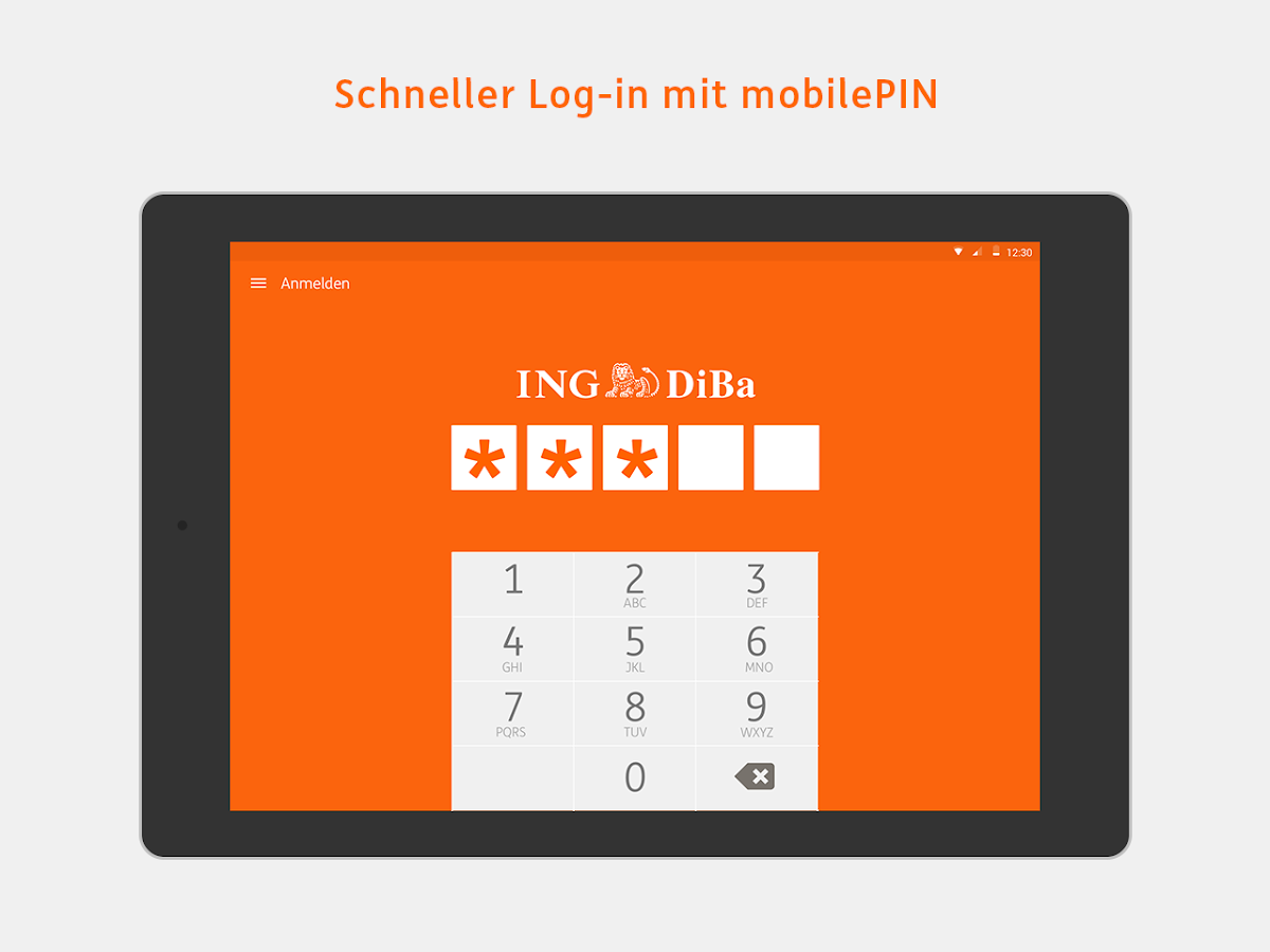 ING-DiBa Banking to go- screenshot
