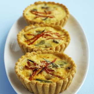 Cheese and Scallion Tarts