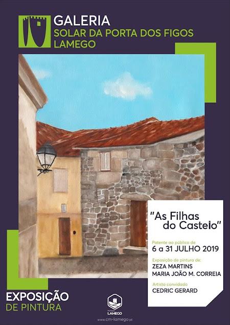 Exposição de pintura reflete vivências do Bairro do Castelo de Lamego