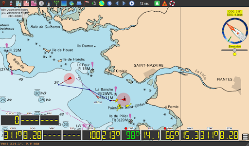 qtVlm Navigation and Weather Routing 5.9 screenshots 15