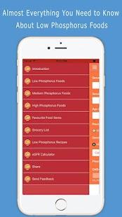 Low Phosphorus Foods - náhled