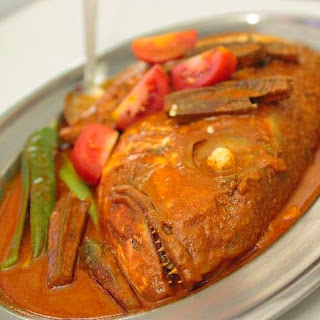 Penang Nyonya style Assam Fish Curry