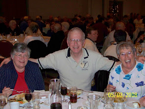Photo: Jim and Cathy Williams and friend.