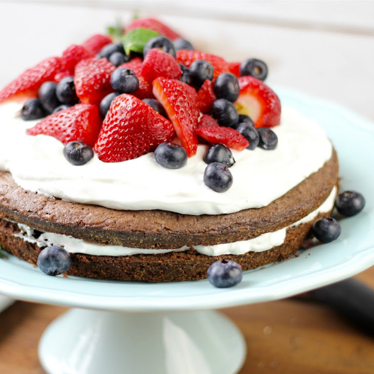 Brownie Strawberry Shortcake Recipe