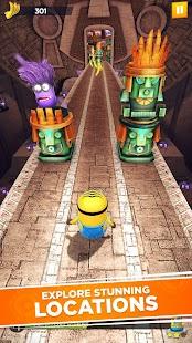 Minion Rush: Despicable Me Official Game Screenshot