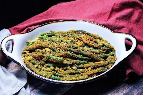 Fried Asparagus Spears