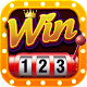 Game danh bai doi thuong Win123 Online icon