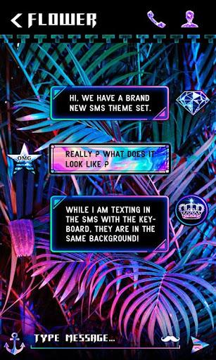 (FREE) GO SMS RUSH THEME screenshot