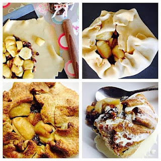 Easy Open Apple and Mincemeat Pie