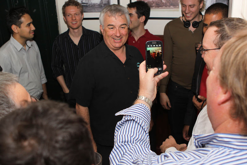 Photo: Meetup with Leo Laporte from TWIT.TV, 07/11/2012 Harts Hotel, The Rocks in Sydney Australia. 150 geeks packed the pub. Photos by OzPhotoGuy