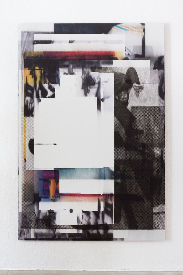 Broomberg & Chanarin: Untitled II, UV print on board. Picture: SUPPLIED