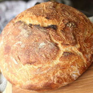 Dutch Oven Artisan Bread.