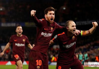Un énorme Messi couronne le Barça, champion d'Espagne