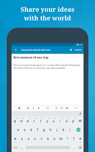Screenshot 11 for WordPress's Android app'