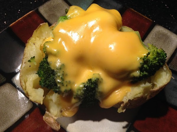 UNDER BROILER MELT CHEESE N THEN ENJOY :)