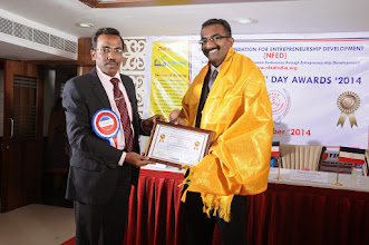 Photo: Felicitations to Mr. Bobby A. Mathew, Guest of Honour