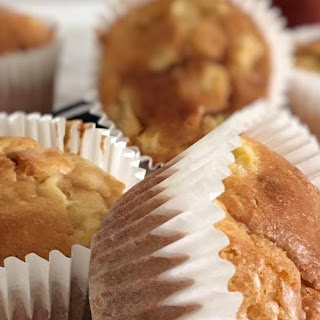 Apple & Toffee Muffins.