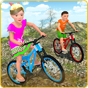 Kids OffRoad Bicycle Free Ride icon