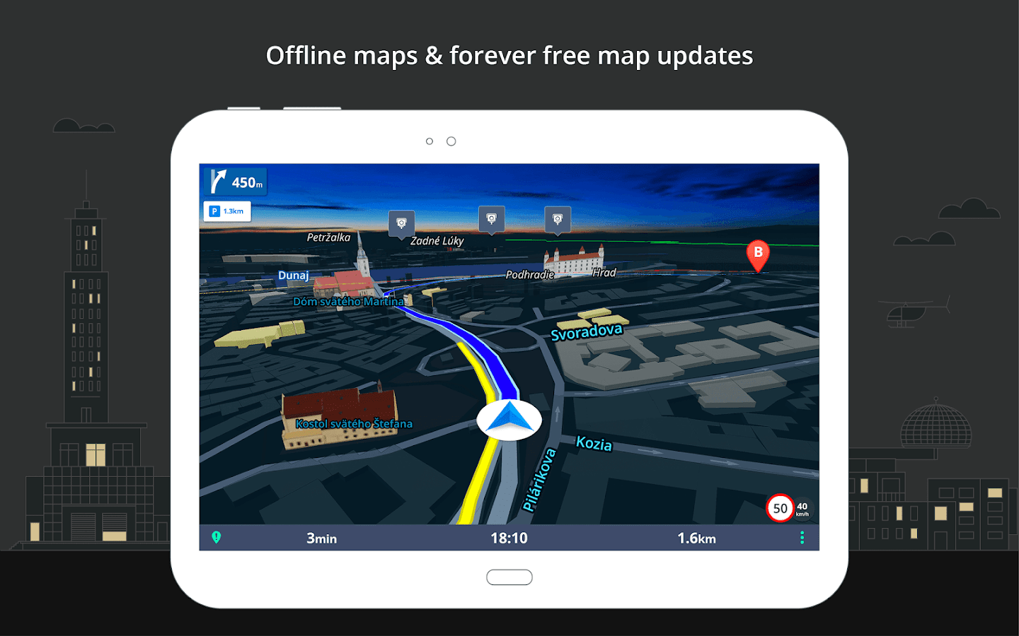 best offline gps app for iphone gps navigation amp offline maps sygic android apps on 18309