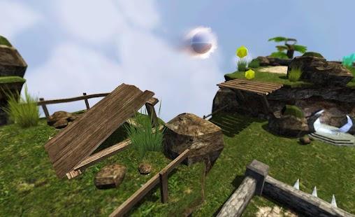 Denge Ball 3D - Sky Dünyalar Ekran Görüntüsü