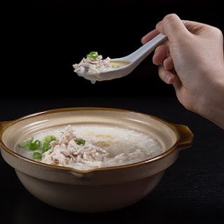 Pressure Cooker Chicken Porridge