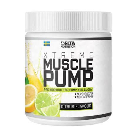 Delta Nutrition Muscle Pump 300g - Citrus Flavour