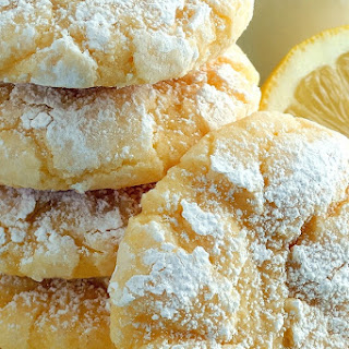 Lemon Gooey Butter Cookies – Best Ever {from scratch!}