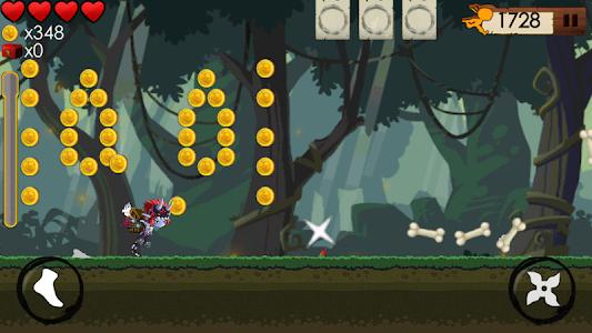 KILL THE NINJA : Bad Guy Run 2 screenshot 6