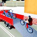 BMX Bicycle Transport Truck Simulator 3D icon